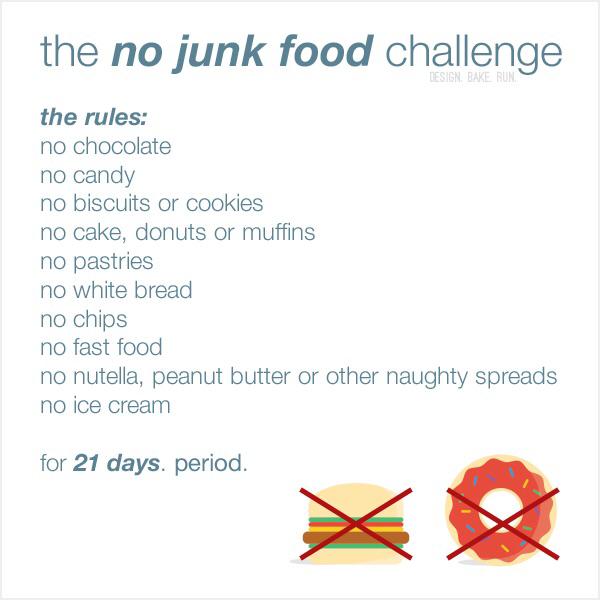 Week 3 Result No Junk Food Challenge Fail Lifeofrhi